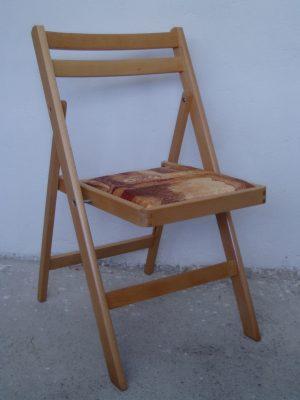 Трапезен стол Сгъваем тапициран