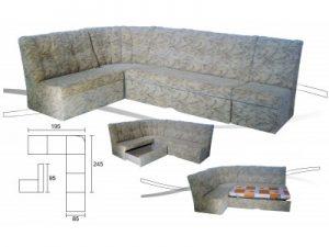 Мека мебел Стефи